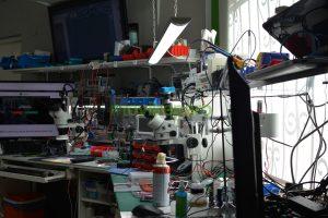 Laboratorio profesional propio
